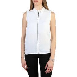 Textiel Dames Overhemden Armani jeans - 6y5c03_5ndhz Wit