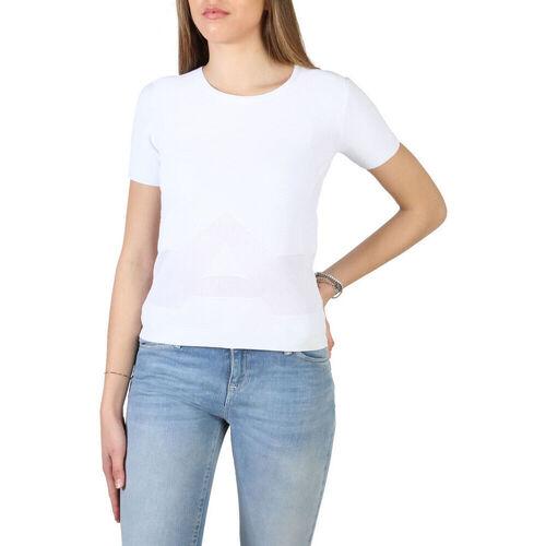Textiel Dames T-shirts korte mouwen Armani jeans - 3y5m2l_5m22z Wit