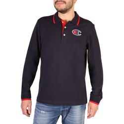 Textiel Heren Polo's lange mouwen Champion - 214462_BS Blauw
