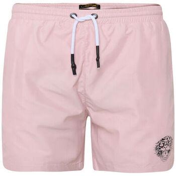 Textiel Heren Zwembroeken/ Zwemshorts Ed Hardy - Roar-head swim short dusty pink Roze