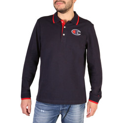 Textiel Heren Polo's korte mouwen Champion - 214462_BS Blauw