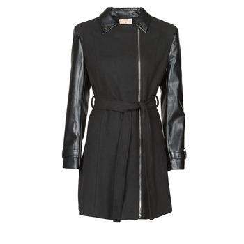 Textiel Dames Mantel jassen Moony Mood NOUMEA Zwart