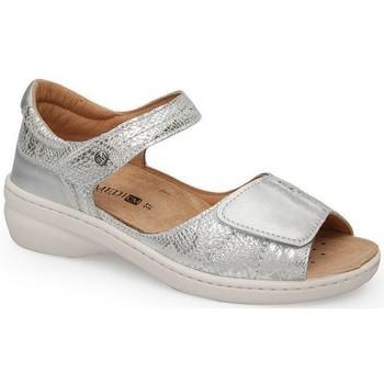 Schoenen Dames Sandalen / Open schoenen Calzamedi FASHION SANDAL PLATINA