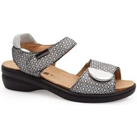 Schoenen Dames Sandalen / Open schoenen Calzamedi SANDAL MET VERSE STIJL ZWART
