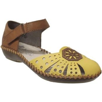 Schoenen Dames Sandalen / Open schoenen Rieker M1666 Geel
