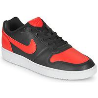 Schoenen Heren Lage sneakers Nike EBERNON LOW Zwart / Rood