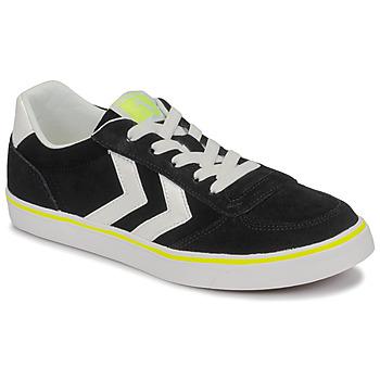 Schoenen Kinderen Lage sneakers Hummel STADIL 3.0 JR Zwart / Wit