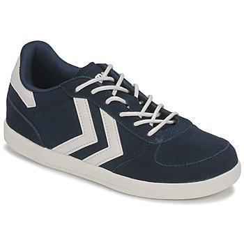 Schoenen Kinderen Lage sneakers Hummel VICTORY JR Blauw