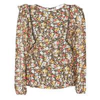 Textiel Dames Tops / Blousjes Betty London NELIA Zwart / Multicolour