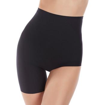 Ondergoed Dames Shapewear Selmark Curven  omkeerbare asymmetrische inlegkruisjes hoge Parelmoer Zwart