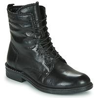 Schoenen Dames Laarzen Mjus PALLY Zwart