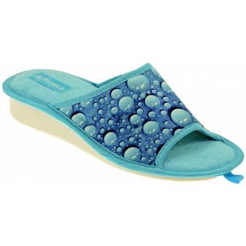 Schoenen Dames Leren slippers De Fonseca  Multicolour