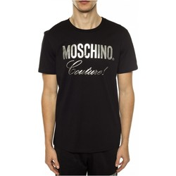 Textiel Heren T-shirts korte mouwen Love Moschino ZPA0715 Zwart