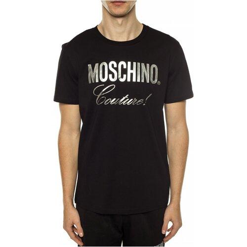 Textiel Heren T-shirts korte mouwen Moschino ZPA0715 Zwart