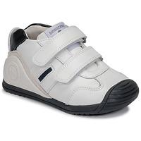 Schoenen Jongens Lage sneakers Biomecanics BIOGATEO SPORT Wit