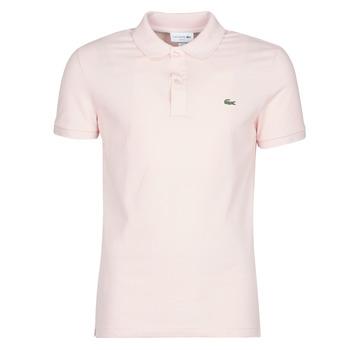 Textiel Heren Polo's korte mouwen Lacoste PH4012 SLIM Roze