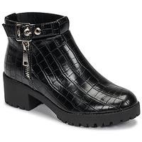 Schoenen Dames Laarzen Moony Mood NIETTE Zwart