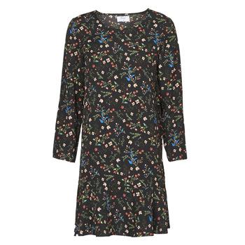 Textiel Dames Korte jurken Betty London NELLY Zwart / Multicolour