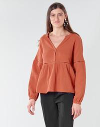 Textiel Dames Tops / Blousjes Betty London NASSE Roest