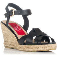 Schoenen Dames Sandalen / Open schoenen Crab 82006 Zwart