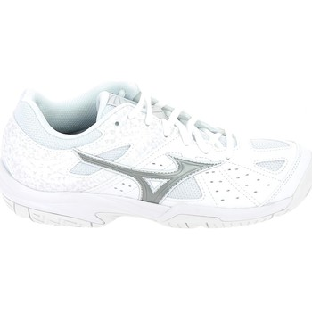 Schoenen Dames Allround Mizuno Break Shot 2 AC Blanc Argent Wit