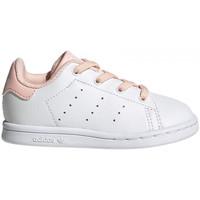 Schoenen Kinderen Lage sneakers adidas Originals Stan smith el i Wit