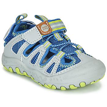 Schoenen Kinderen Outdoorsandalen Gioseppo MEXICALI Grijs / Blauw