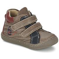 Schoenen Jongens Hoge sneakers Citrouille et Compagnie THEO Taupe