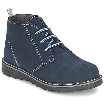 Schoenen Jongens Laarzen Citrouille et Compagnie LEQUIN Blauw