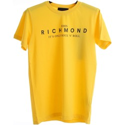 Textiel Jongens T-shirts korte mouwen Richmond Kids RBP20069TS Yellow