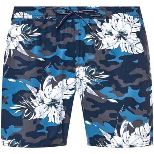 Textiel Heren Zwembroeken/ Zwemshorts Armani 211740 0P441 Blauw