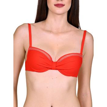 Textiel Dames Bikinibroekjes- en tops Lisca Itala Marina  Voorgevormde Zwempak Top Zand