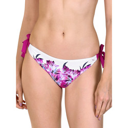Textiel Dames Bikinibroekjes- en tops Lisca Bas de maillot de bain à nouettes Egina Granaat