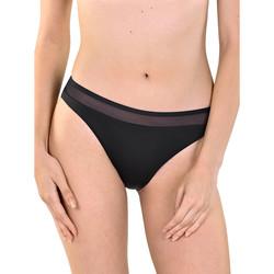 Textiel Dames Bikinibroekjes- en tops Lisca Bas de maillot de bain Porto Montenegro Parelmoer Zwart