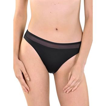 Textiel Dames Bikinibroekjes- en tops Lisca Zwempakbroekje Porto Montenegro Parelmoer Zwart