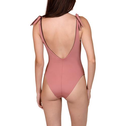 Textiel Dames Badpak Lisca Omkeerbaar 1-delig zwempak zonder beugel Kea  Cheek Paars