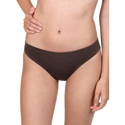 Textiel Dames Bikinibroekjes- en tops Lisca Kea  Wang ecologische omkeerbare zwembroekjes Paars