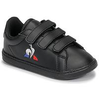 Schoenen Kinderen Lage sneakers Le Coq Sportif COURTSET INF Zwart