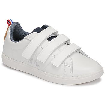 Schoenen Kinderen Lage sneakers Le Coq Sportif COURTCLASSIC PS Wit