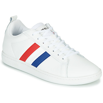Schoenen Lage sneakers Le Coq Sportif COURTCLASSIC FLAG Wit