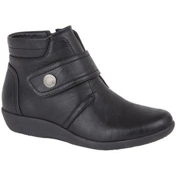 Schoenen Dames Enkellaarzen Boulevard  Zwart