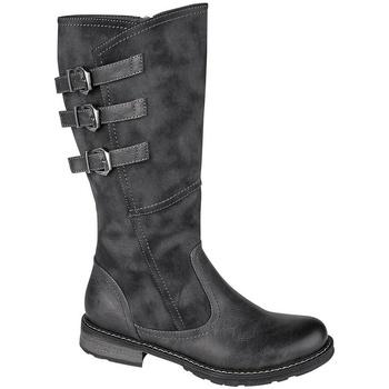 Schoenen Dames Hoge laarzen Cipriata  Zwart