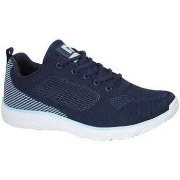 Schoenen Dames Lage sneakers Dek  Marine/Kleurig Blauw