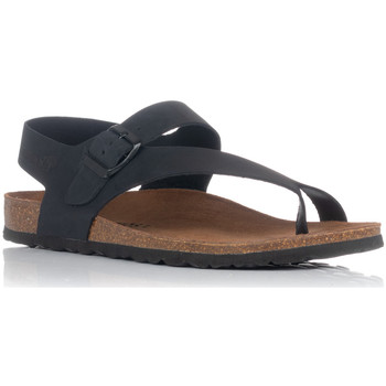 Schoenen Heren Sandalen / Open schoenen Interbios 9511 Zwart