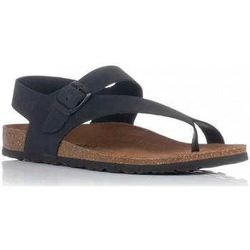 Schoenen Heren Sandalen / Open schoenen Interbios 9512 Zwart