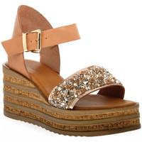 Schoenen Dames Sandalen / Open schoenen Sono Italiana VACCHETTA GLITTER Grigio