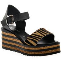 Schoenen Dames Sandalen / Open schoenen Sono Italiana CRAST NERO Nero