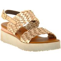 Schoenen Dames Sandalen / Open schoenen Sono Italiana LAMINATO RAME Marrone