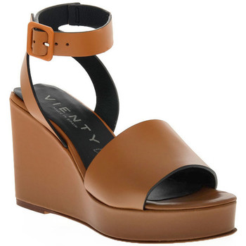 Schoenen Dames Sandalen / Open schoenen Vienty CUERO NOX Marrone