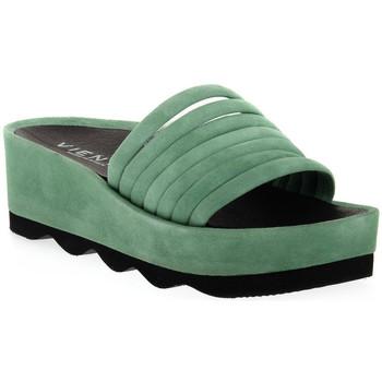 Schoenen Dames Leren slippers Vienty RUBI ANTE Rosso